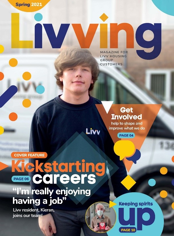 Livving magazine out now!