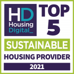 Housing Digital Top 5 Sustainable Housing Provider 2021